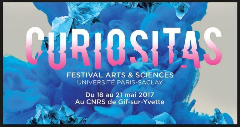 Logo festival CNRS Curiositas 2017