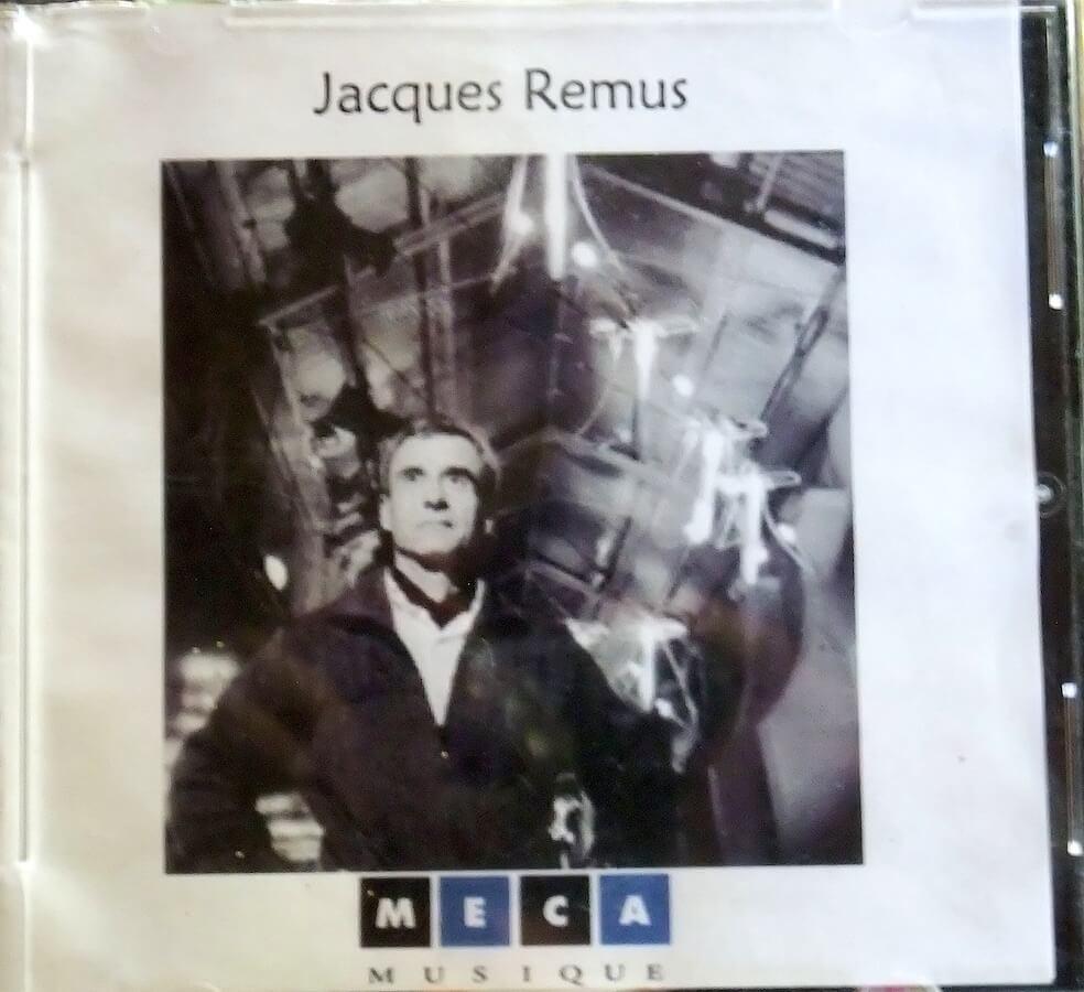 Pochette disque avec photographie Jacques Rémus