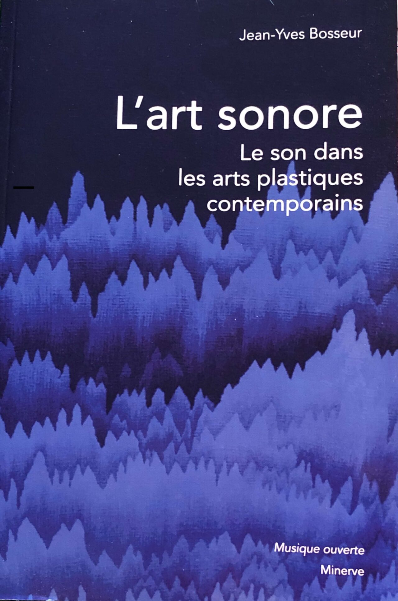 Couverture de livre avec graphisme bleu et noir de Cécile le Talec